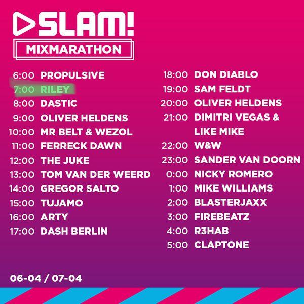 SlamFM-Mixmarathon-2006-04-2018