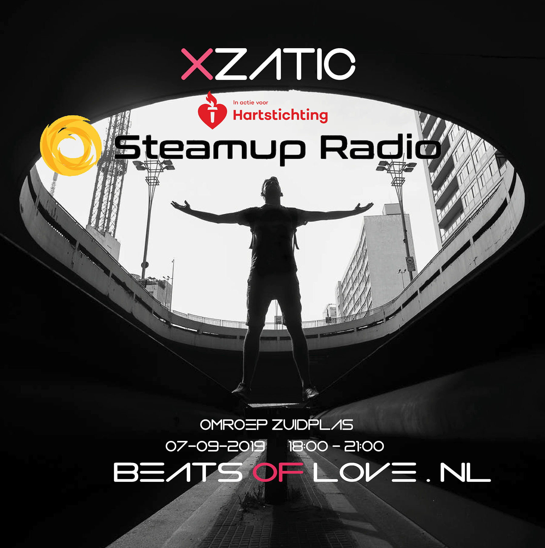 Xzatic Presents Beats Of Love [003] Live at Radio Zuidplas, Nieuwerkerk Aan Den IJssel