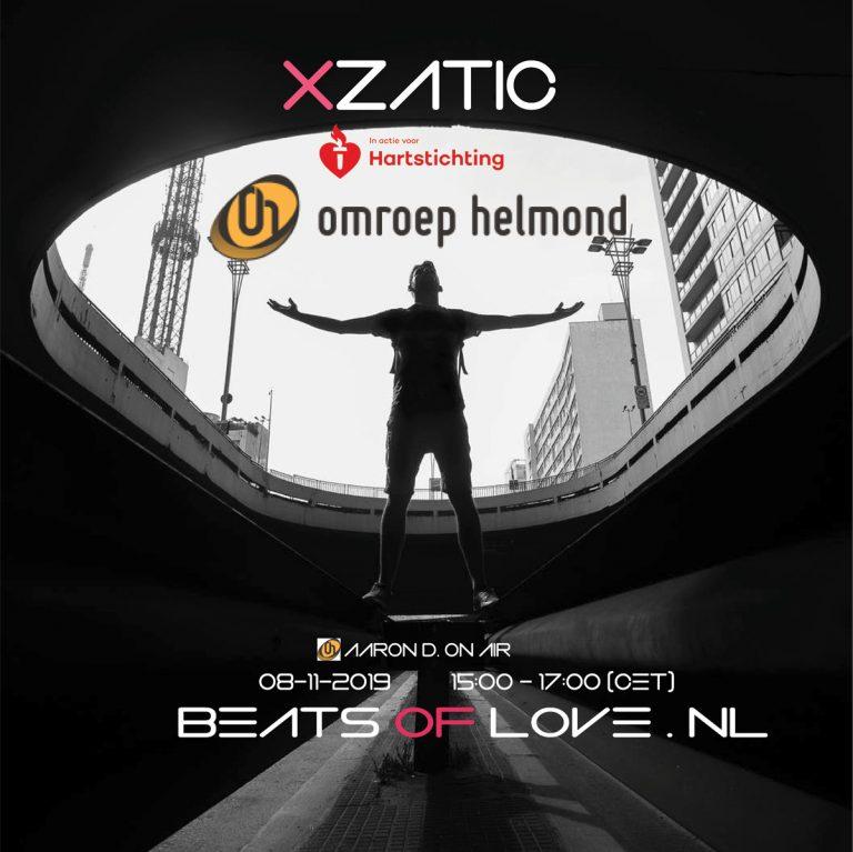 Xzatic Presents Beats Of Love [011] Live at Omroep Helmond