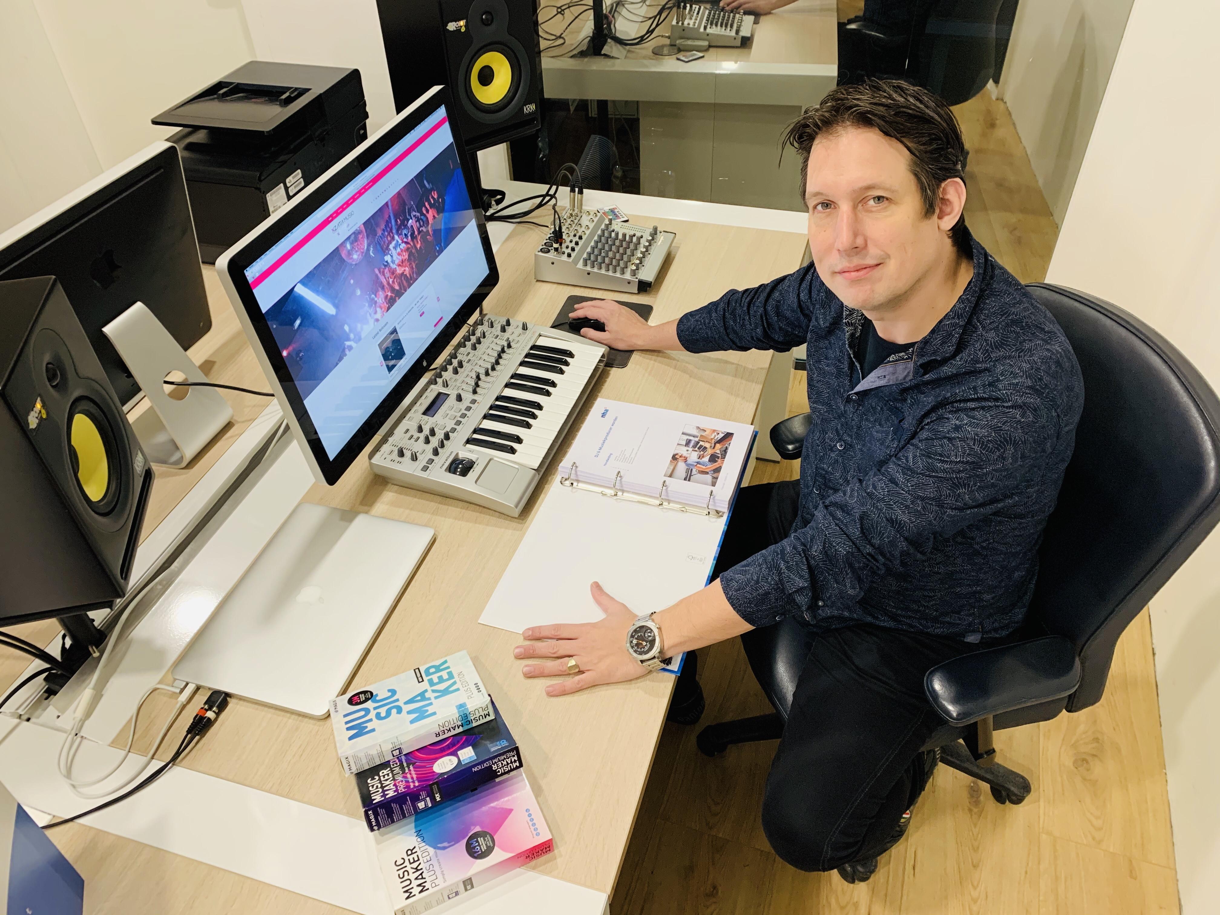 DJ XZATIC, NHA en MAGIX lanceren opleiding DJ en Muziekproducer