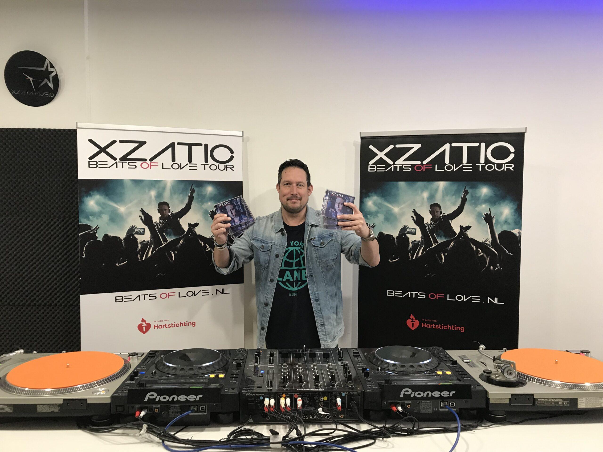 DJ XZATIC in actie voor Hartstichting